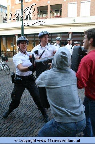 112rivierenland Tiel Politie Oefening In Tielse Binnenstad